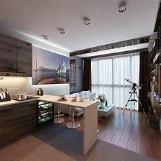 Best Small Apartment Design Ideas 3 Distinctly Themed Apartments Under 800 Square Feet With