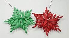 3d Paper Snowflake 3d Snowflake Diy Tutorial How To Make 3d Paper