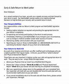 Work Letter Free 21 Work Letter Samples In Pdf Ms Word