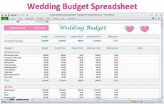 Wedding Cost Estimator Spreadsheet Wedding Budget Spreadsheet Planner Excel Wedding Budget