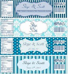 Water Bottle Labels Template Free More Water Bottle Labels Now With Templates Attached