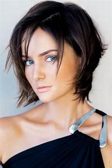 kurzhaarfrisuren für feines dunkles haar dunkle kurze haare