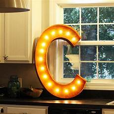 Buy Marquee Lights 36 Letter C Lighted Vintage Marquee Letters Rustic