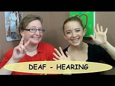 Jobs With The Deaf Hearing Deaf Relationship Tips Youtube