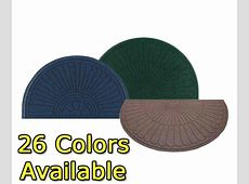 Half Oval Grand Premier Waterhog ECO Entrance Mats are Entrance Floor Mats by American Floor Mats