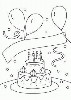 Ausmalbilder Geburtstag Kinder Ausmalbilder Geburtstag 7 Ausmalbilder Kinder