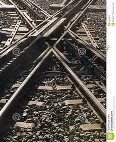 ferrovie a cremagliera ferrovia a cremagliera dell incrocio immagine stock