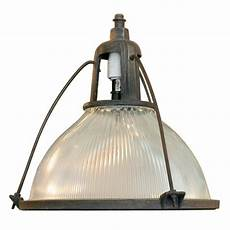 Large Commercial Light Fixtures Holophane Industrial Hanging Light Fixture At 1stdibs