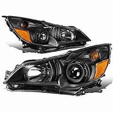 2011 Subaru Outback Front Side Marker Light Amazon Com For 10 14 Outback Legacy Pair Black Housing