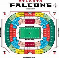 Mercedes Benz Stadium In Atlanta Seating Chart Nfl Football Stadiums Atlanta Falcons Stadium Georgia Dome