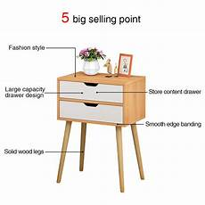 Vasagle Hallway Side Table Bedside Unit With 2 Mesh by China Beyonds Bedside Table With 2 Drawers Wooden End