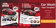 Car Wash Pictures For Flyer Car Wash Flyer Template Graphic Reserve