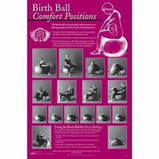 Peanut Ball Chart Birth Ball Comfort Chart Childbirth Graphics