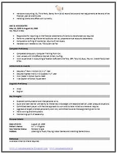 Resume Format Standard Over 10000 Cv And Resume Samples With Free Download
