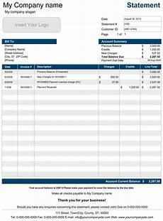 Example P L Statement Excel Download A Free Account Statement Template For Microsoft
