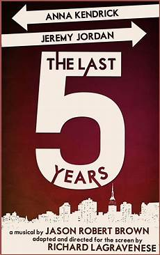 Five Years From Now Review The Last Five Years Reel Reactions