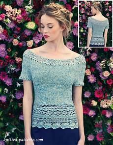 summer top knitting pattern
