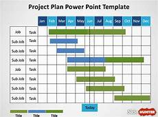 Powerpoint Project Plan Template 5 Gantt Chart Templates Excel Powerpoint Pdf Google