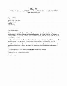 Cover Letter Templates For Students Cover Letter Template Student Job Cover Letter