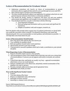 Sample Graduate School Recommendation Letter From Employer Grad School Sample Letter Of Recommendation For Graduate