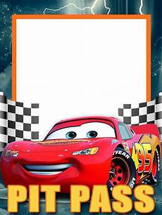 Cars Birthday Invitation Templates Lightning Mcqueen Invitation Template Free Car Birthday