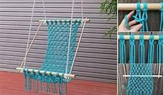 how to make a lovely diy macrame hammock home design