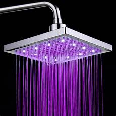 Shower Head With Lights Creative Colorful Led Changing Color Shower Head Faucet