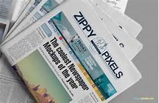 Free Advertising Papers Free Beautiful Newspaper Ad Psd Mockup Zippypixels
