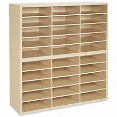 mail sorter wood 30 compartment h 4850 uline