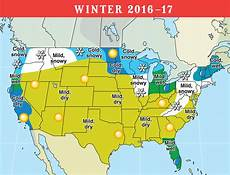 Snow Chart 2017 2016 2017 Long Range Weather Forecast For U S And Canada