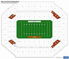Seating Chart Carrier Dome Football 200 Level Corner Carrier Dome Football Seating