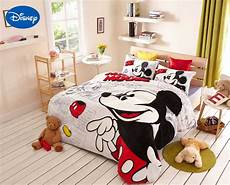 mickey mouse comforter bedding set flannel duvet cover