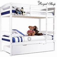 details about new bunk beds single frame solid pine