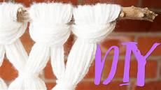 diy yarn macrame
