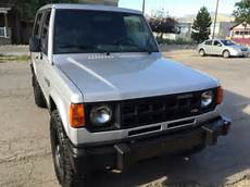 Rare 1989 Dodge Raider Montero 2 Door 4x4 With 5 Speed