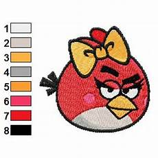 Angry Bird Designs Angry Birds Embroidery Design 06