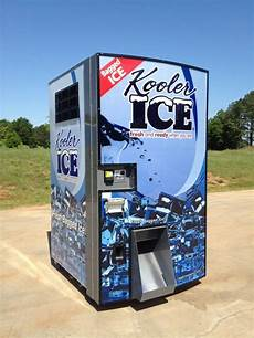 Ice Vending Machines Im1000 Ice Vending Machine Kooler Ice