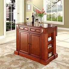 cherry kitchen island cart drop leaf breakfast kitchen cart cherry d kf30007ch