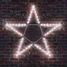 Red And White Large Christmas Lights Snowflakes Amp Stars 45 Quot Led Folding Star Decoration 70