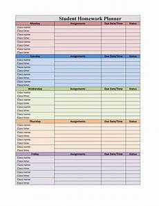 Student Subject Planner 37 Printable Homework Planners Only The Best ᐅ Templatelab