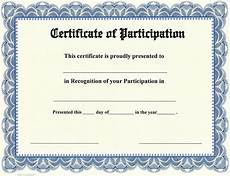 Free Certificates Of Participation Certificate Of Participation On Stocksmith Border Qty 20
