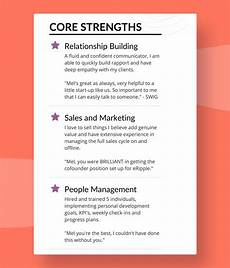 Resume Strengths Successful Sales Resumes What Do They Do Right
