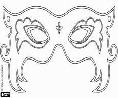 beautiful carnival mask coloring page 193 larcok karnev 225 l