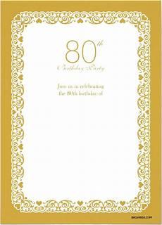 80th Birthday Invitation Free Printable 80th Birthday Invitations Free Printable