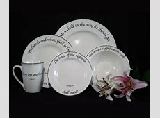 Scripture Tableware Family Children LordsArt, Christian