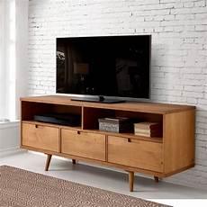 drawer midcentury modern tv stand best target living