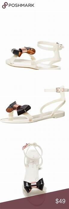 Ted Baker Shoe Size Chart New Ted Baker Louwla Sandals In Cream Nwt Ted Baker