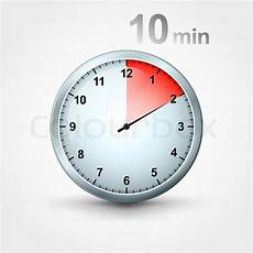 Timer 10 Minutes Timer 10 Minutes Stock Vector Colourbox