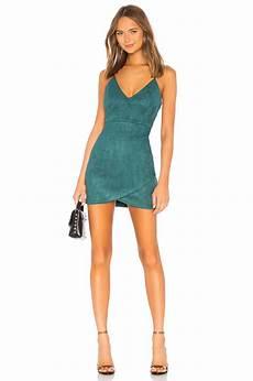 superdown carrie mini dress in green revolve