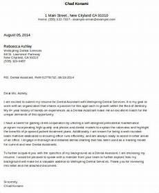 Cover Letter Sample For Program Assistant Free 4 Cover Letter For Dental Assistant In Ms Word Pdf